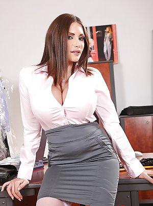 Big Tits Uniform Pics